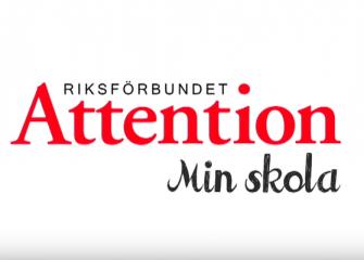 Dokumentärfilm för Riksförbundet Attention om att ha tourettes