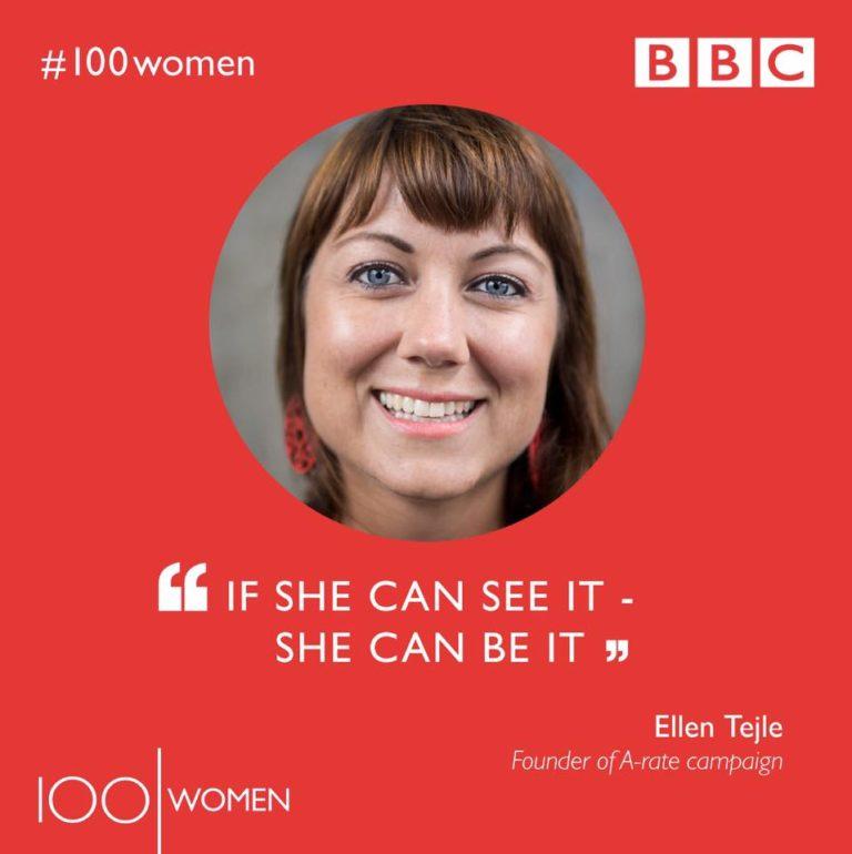 Fanzingos chef - en av världens mest inflytelserika kvinnor!
