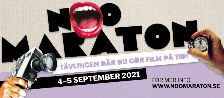 Rekordmånga deltagare i filmtävlingen Noomaraton Stockholm 2021